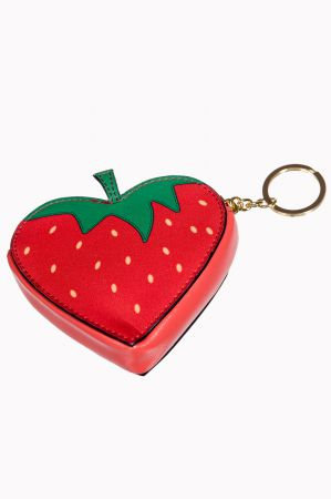 BANNED Coin Purse Strawberry in my Pocket