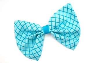 HAIRBOW_33 Diamonds BLUE Hairbow