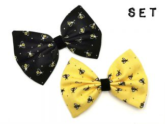 BOWSET_02 Buzzy Bees Hairbow SET