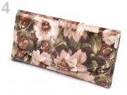 Flower Wallet - BROWN
