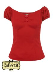 COLLECTIF Top DOLORES - Rot