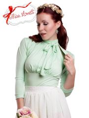 SET Wedding Halter Neck Top + Bolero MINT